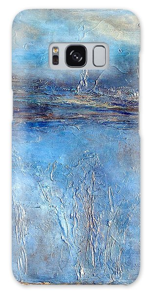 Stellar Wind Abstract Textured Painting Galaxy Case