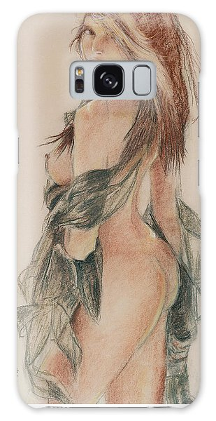 Standing Nude 1 Galaxy Case by Sciandra