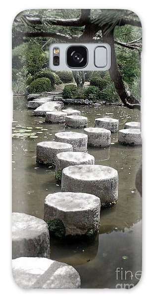 Stepping Stone Kyoto Japan Galaxy Case