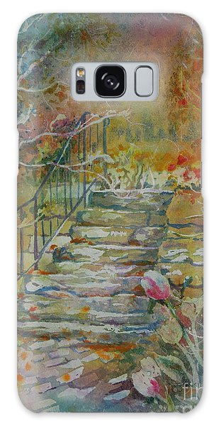 Steps And Tulips Galaxy Case
