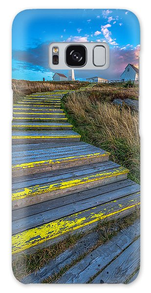 Steps To Cape Spear Galaxy Case