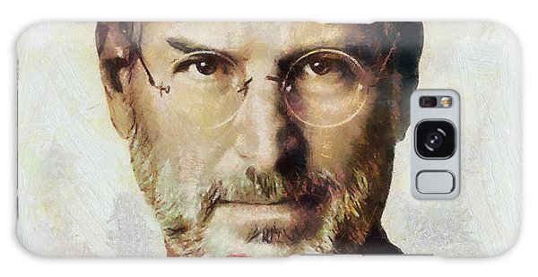 Steve Jobs  Galaxy Case by Wayne Pascall