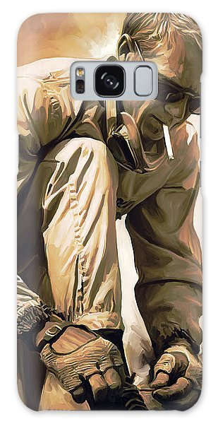 Steve Mcqueen Artwork Galaxy Case