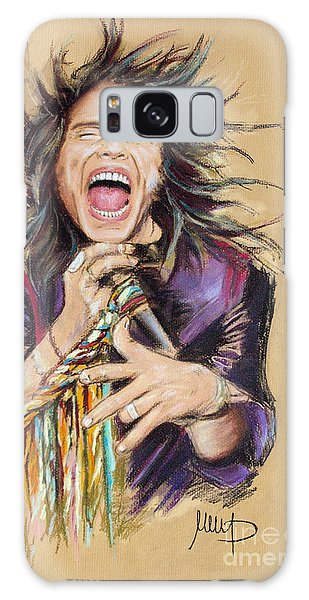 Steven Tyler Galaxy Case by Melanie D