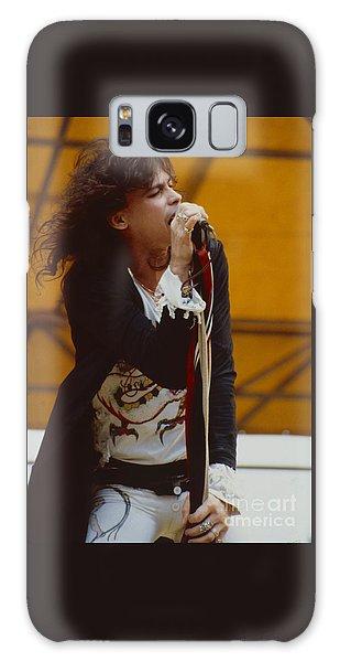 Steven Tyler Of Aerosmith At Monsters Of Rock In Oakland Ca Galaxy Case