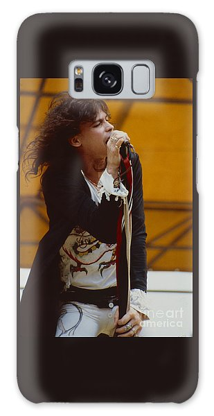 Steven Tyler Of Aerosmith At Monsters Of Rock In Oakland Ca Galaxy Case