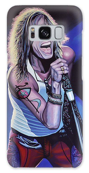 Steven Tyler 3 Galaxy Case by Paul Meijering