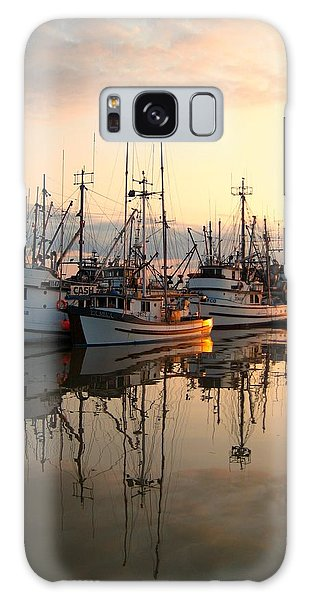 Steveston Harbour Galaxy Case by Shirley Sirois