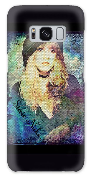 Stevie Nicks - Beret Galaxy Case by Absinthe Art By Michelle LeAnn Scott