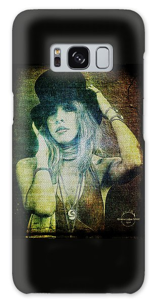 Rock And Roll Galaxy S8 Case - Stevie Nicks - Bohemian by Absinthe Art By Michelle LeAnn Scott