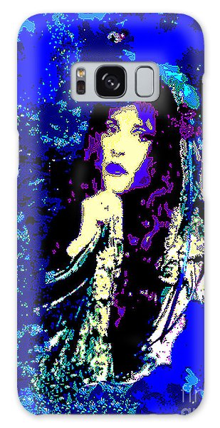 Stevie Nicks In Blue Galaxy Case by Alys Caviness-Gober