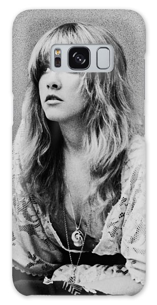 White Galaxy Case - Stevie Nicks by Georgia Fowler