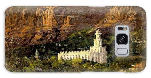 St.george Temple Red Hills Antiique Galaxy Case