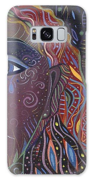 Still A Mystery 2 Galaxy Case by Helena Tiainen