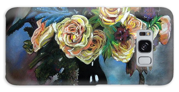Still Life Flowers Galaxy Case