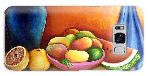Still Life Of Fruits Galaxy Case