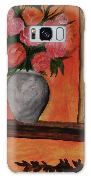 Still Life On The Mantle Galaxy Case by Christy Saunders Church