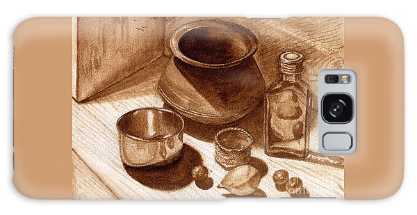 Still Life Walnut Ink Galaxy Case