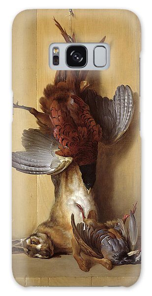 Still Life With A Hare, A Pheasant And A Red Partridge Galaxy Case by Jean-Baptiste Oudry