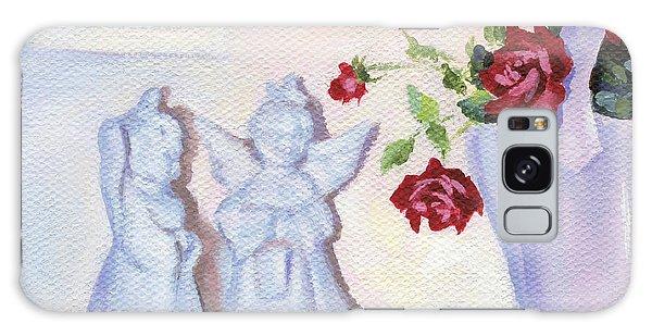 Still Life With Angels Galaxy Case by Natasha Denger