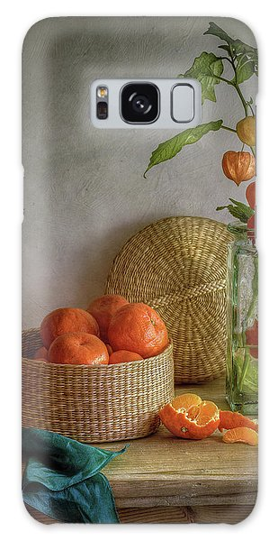 Basket Galaxy Case - Still Life With Clementines by Mandy Disher
