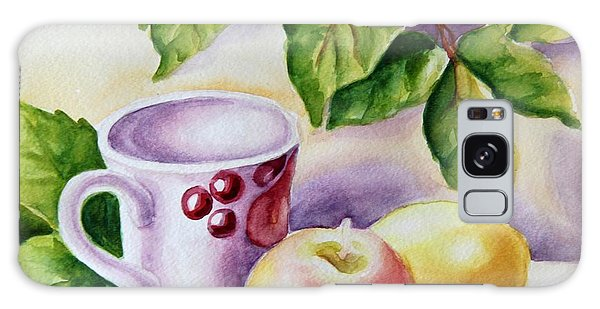 Still Life With Cup And Fruits Galaxy Case