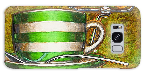 Still Life With Green Stripes And Saddle  Galaxy Case