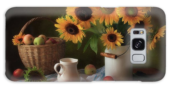 Basket Galaxy Case - Still Life With Sunflowers by ??????? ????????