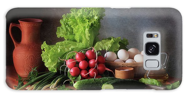 Basket Galaxy Case - Still Life With Vegetables by ??????????? ??????????