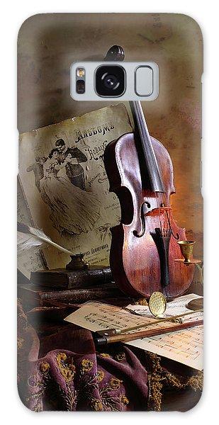 Record Galaxy Case - Still Life With Violin by Andrey Morozov