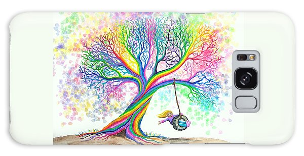 Still More Rainbow Tree Dreams Galaxy Case