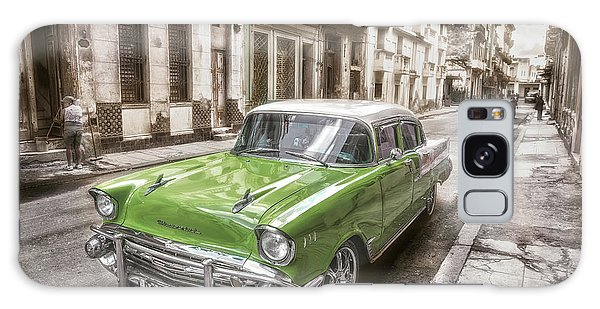 Vintage Cars Galaxy Case - Still  Shining by Alper Uke