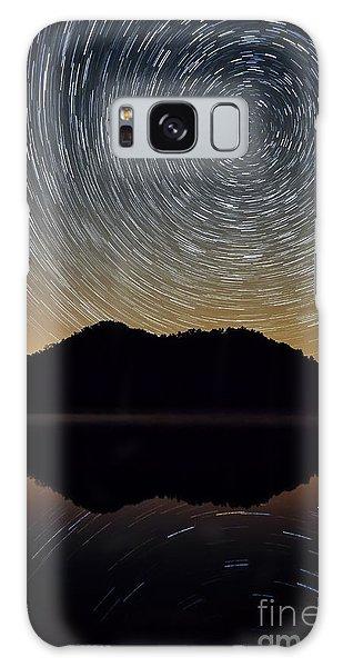 Still Water Star Trails Galaxy Case by Anthony Heflin