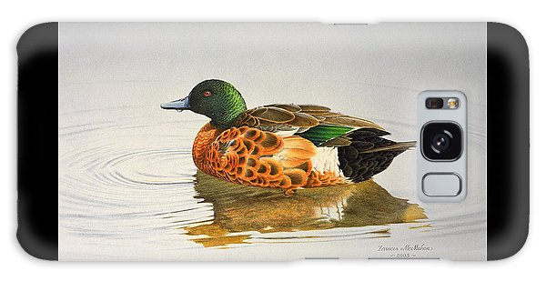 Still Waters - Chestnut Teal Galaxy Case by Frances McMahon