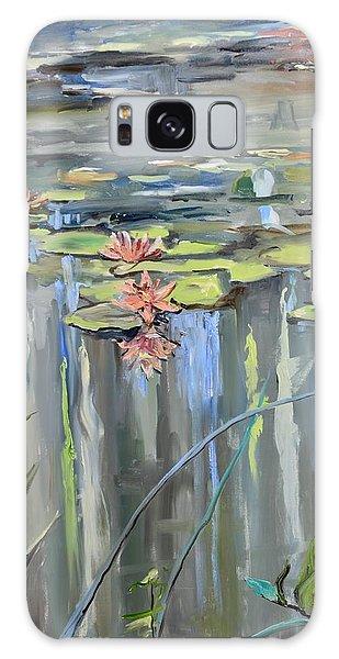 Still Waters Galaxy Case by Donna Tuten