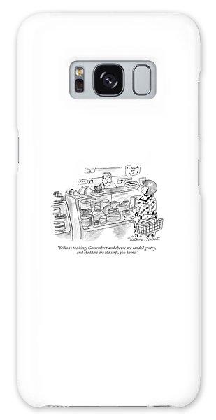 Stilton's The King Galaxy S8 Case