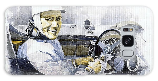 Portret Galaxy Case - Stirling Moss by Yuriy Shevchuk