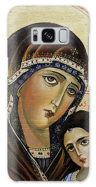 St.mary With  Jessus  Galaxy Case