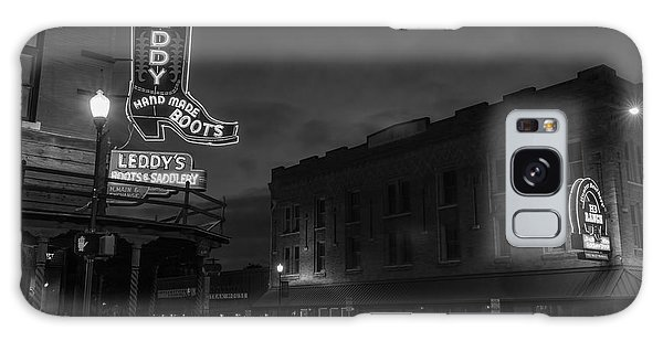 Stockyards Main And Exchange Bw Galaxy Case