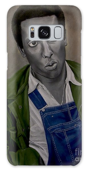 Stokely Carmichael Aka Kwame Toure Galaxy Case by Chelle Brantley