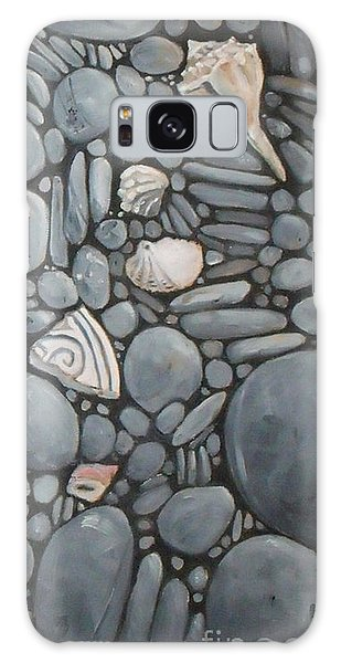 Stone Beach Keepsake Rocky Beach Shells And Stones Galaxy Case