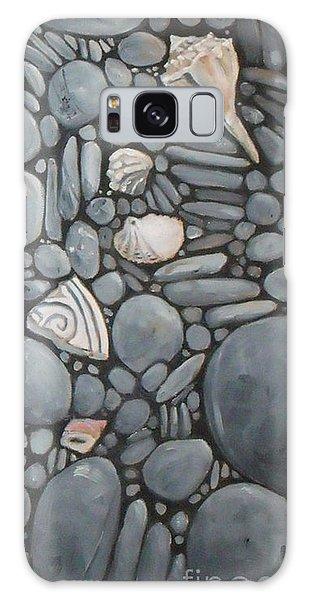 Stone Beach Keepsake Rocky Beach Shells And Stones Galaxy Case