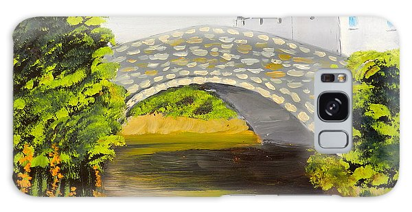 Stone Bridge At Burrowford Uk Galaxy Case