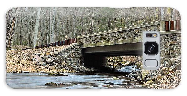 Stone Bridge At Cherry Run #1 - Bald Eagle State Forest Galaxy Case