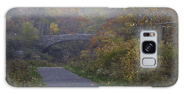 Stone Bridge In Autumn 3 Galaxy Case