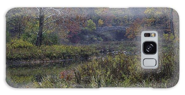 Stone Bridge In Autumn I Galaxy Case