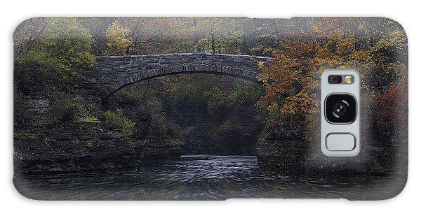Stone Bridge In Autumn II Galaxy Case