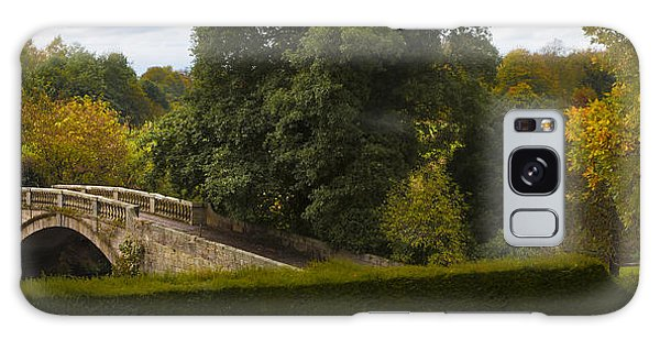 Stone Bridge Panorama Galaxy Case