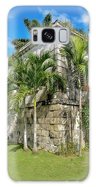 Stone Building Good Hope Estate Jamaica Galaxy Case