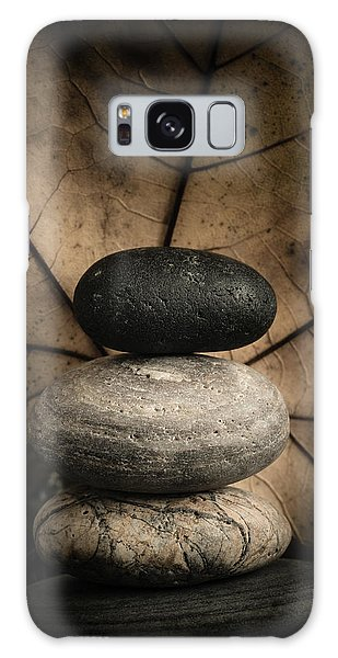 Stone Cairns II Galaxy Case